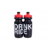 Фляга Green Cycle Drink & Ride 600 мл червоно-чорна