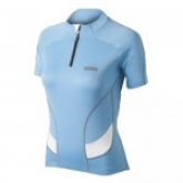 Велосипедна футболка Shimano Dry-clim колір блакитний M