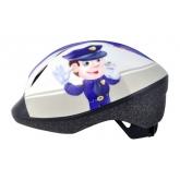 Дитячий шолом KID FUNN 2.0 Police Man. розмір 48-54см