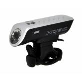 Світло переднє HQBC FLASHER 1W Hi-Power LED 4-ф срібний