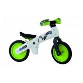 Велосипед BELLELLI B-Bip Pl навчальний  2-5рр (беговел) біло-зелений