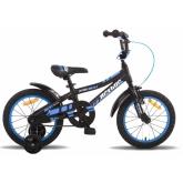 """Велосипед 16"""" PRIDE ARTHUR 2014 чорно-синій, матовий"""